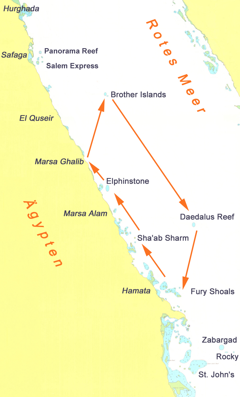 Brothers+Daed+Fury Shoals+Elphinstone ab Ghalib 6 Tage